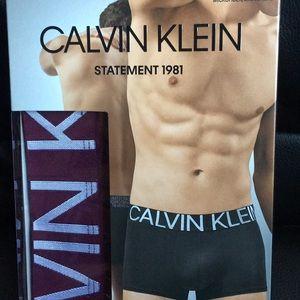Calvin Klein M Statement 1981 Low Rise Trunk